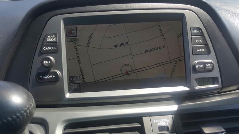 2006 honda odyssey navigation system