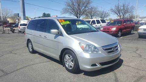 2006 Honda Odyssey for sale at ALBUQUERQUE AUTO OUTLET in Albuquerque NM