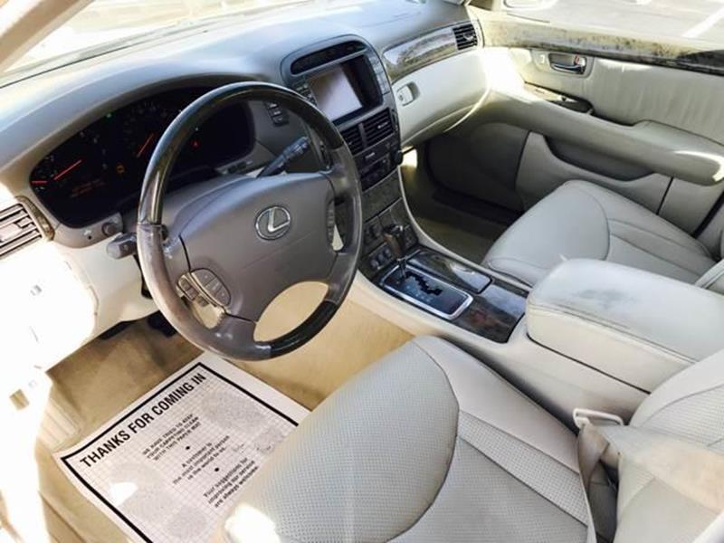 2003 lexus ls 430 4dr sedan in albuquerque nm albuquerque auto outlet. Black Bedroom Furniture Sets. Home Design Ideas