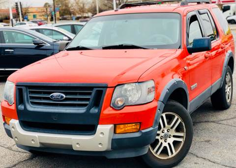 2007 Ford Explorer for sale at ALBUQUERQUE AUTO OUTLET in Albuquerque NM
