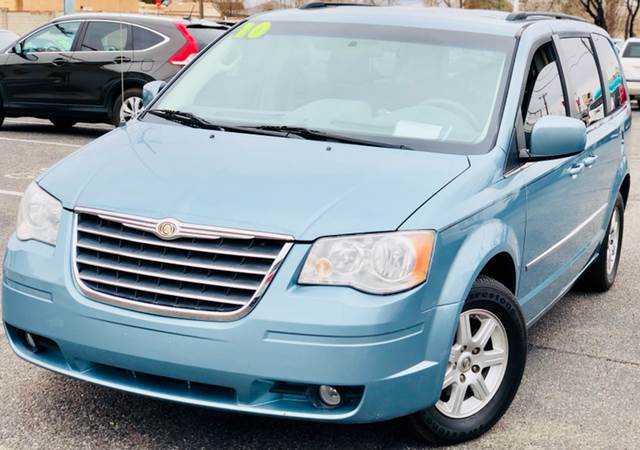 2010 chrysler town and country touring 4dr mini van in albuquerque nm albuquerque auto outlet. Black Bedroom Furniture Sets. Home Design Ideas
