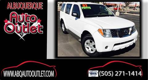 2007 Nissan Pathfinder for sale at ALBUQUERQUE AUTO OUTLET in Albuquerque NM