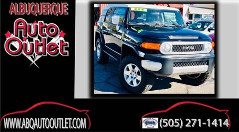 2007 Toyota FJ Cruiser for sale at ALBUQUERQUE AUTO OUTLET in Albuquerque NM