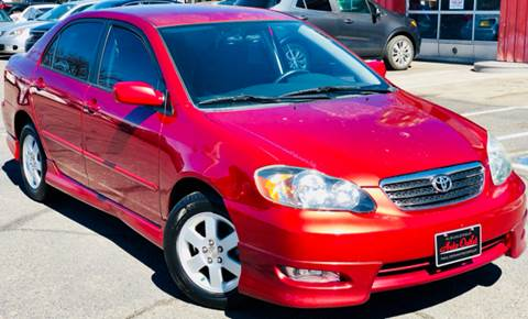 2006 Toyota Corolla for sale at ALBUQUERQUE AUTO OUTLET in Albuquerque NM