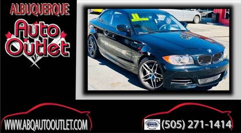 2011 BMW 1 Series for sale at ALBUQUERQUE AUTO OUTLET in Albuquerque NM