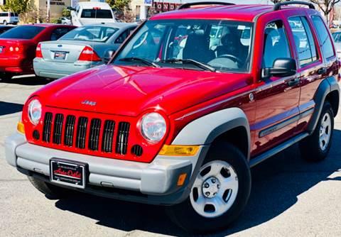 2005 Jeep Liberty for sale at ALBUQUERQUE AUTO OUTLET in Albuquerque NM