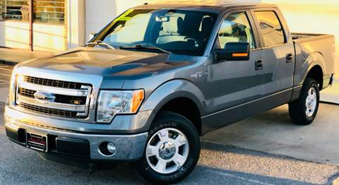 2013 Ford F-150 for sale at ALBUQUERQUE AUTO OUTLET in Albuquerque NM