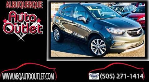 2017 Buick Encore for sale at ALBUQUERQUE AUTO OUTLET in Albuquerque NM