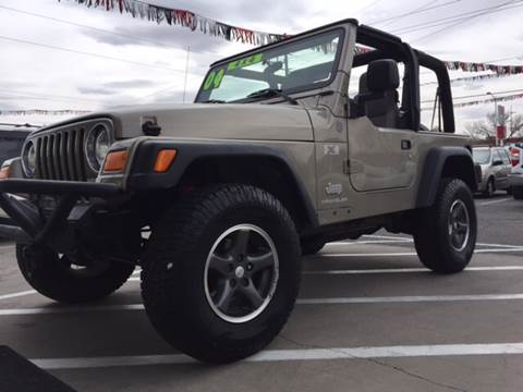 2004 Jeep Wrangler for sale at ALBUQUERQUE AUTO OUTLET in Albuquerque NM
