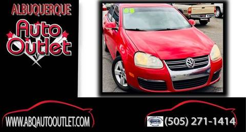 2008 Volkswagen Jetta for sale at ALBUQUERQUE AUTO OUTLET in Albuquerque NM