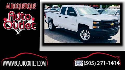 2014 Chevrolet Silverado 1500 for sale at ALBUQUERQUE AUTO OUTLET in Albuquerque NM