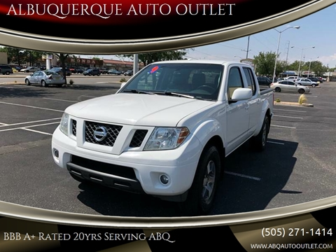 2009 Nissan Frontier for sale at ALBUQUERQUE AUTO OUTLET in Albuquerque NM
