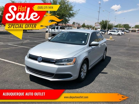 2013 Volkswagen Jetta for sale at ALBUQUERQUE AUTO OUTLET in Albuquerque NM