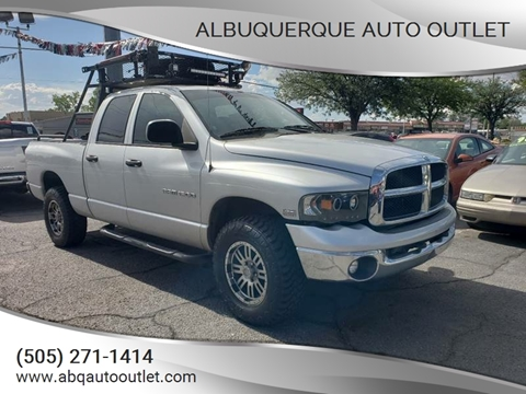 2005 Dodge Ram Pickup 1500 for sale at ALBUQUERQUE AUTO OUTLET in Albuquerque NM