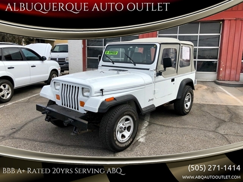 1992 Jeep Wrangler for sale in Albuquerque, NM