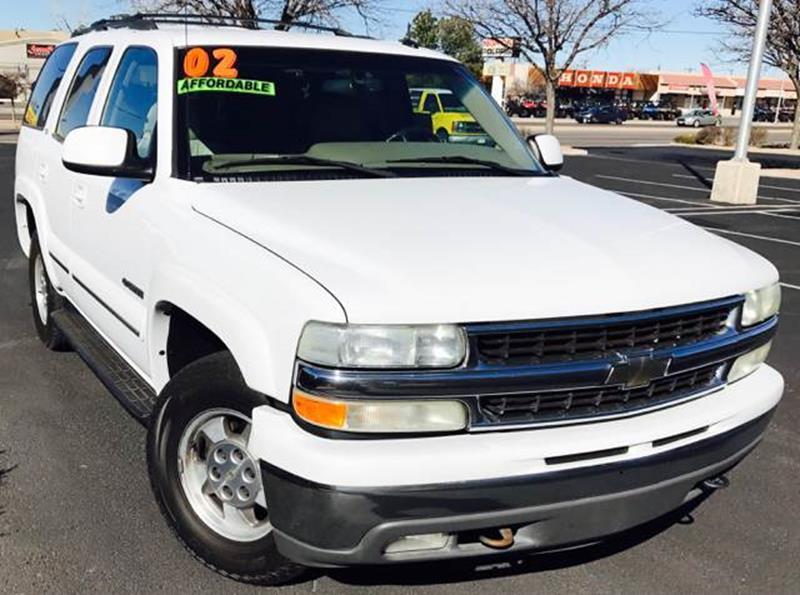 2002 Chevrolet Tahoe LT 4WD 4dr SUV In Albuquerque NM