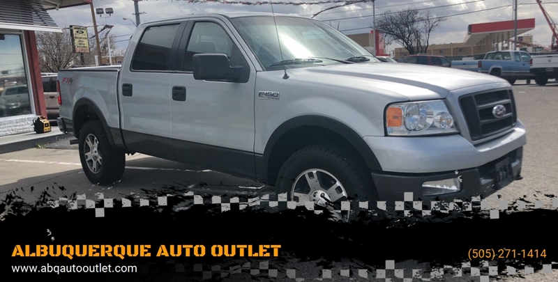 2005 Ford F150 Fx4 >> 2005 Ford F 150 4dr Supercrew Fx4 4wd Styleside 5 5 Ft Sb