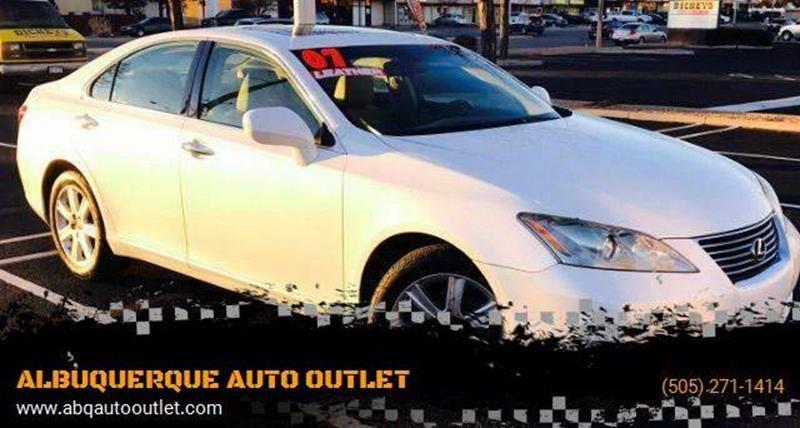2007 Lexus ES 350 for sale at ALBUQUERQUE AUTO OUTLET in Albuquerque NM