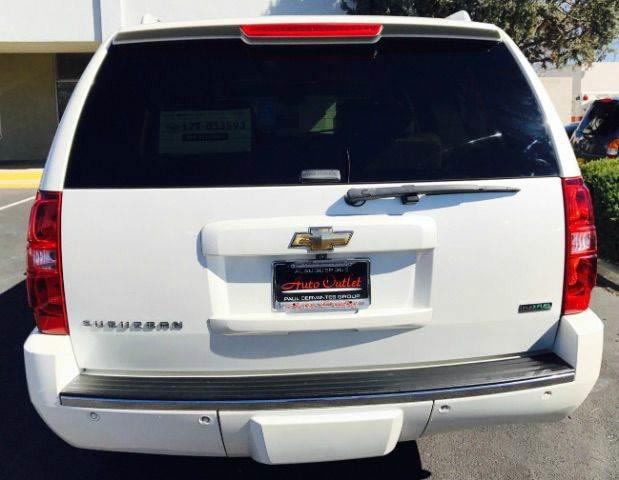 2010 Chevrolet Suburban 4x4 LTZ 1500 4dr SUV - Albuquerque NM