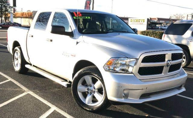 2015 RAM Ram Pickup 1500 Tradesman 4x2 4dr Crew Cab 5.5 ft. SB Pickup - Albuquerque NM