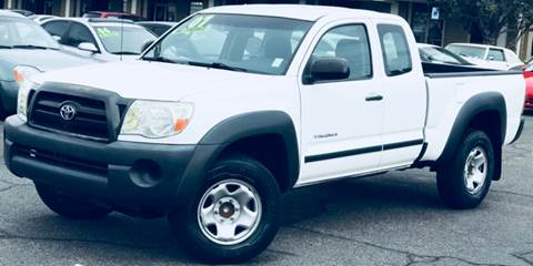 2007 Toyota Tacoma for sale at ALBUQUERQUE AUTO OUTLET in Albuquerque NM