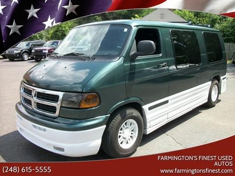 2001 Dodge Ram Van for sale in Farmington, MI