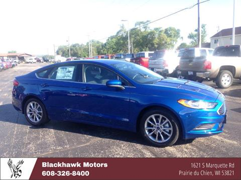 2017 Ford Fusion for sale in Praire Du Chien WI