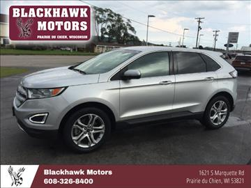 2015 Ford Edge for sale in Praire Du Chien WI