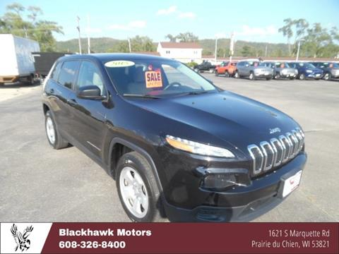 2015 Jeep Cherokee for sale in Praire Du Chien WI