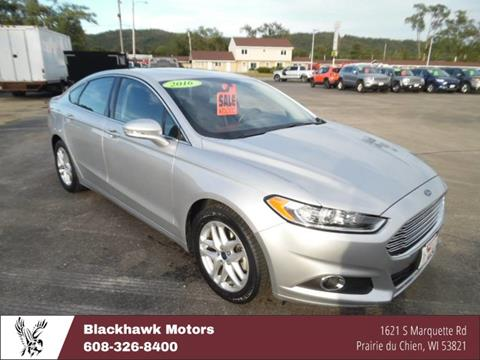 2016 Ford Fusion for sale in Praire Du Chien, WI