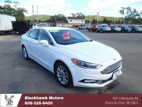2017 Ford Fusion for sale in Praire Du Chien, WI