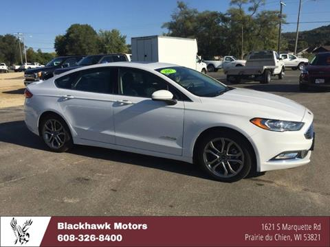 2017 Ford Fusion Hybrid for sale in Praire Du Chien, WI