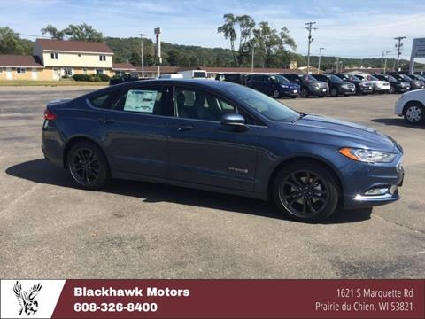 2018 Ford Fusion Hybrid for sale in Praire Du Chien, WI