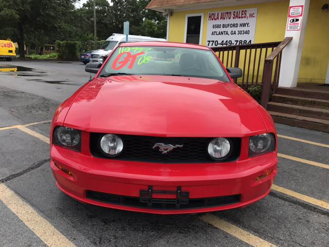 2008 Ford Mustang GT Deluxe 2dr Fastback - Doraville GA