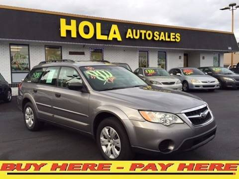 2008 Subaru Outback for sale at Hola Auto Sales in Atlanta GA