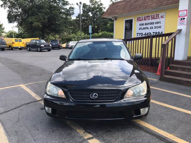2002 Lexus IS 300 4dr Sedan - Doraville GA