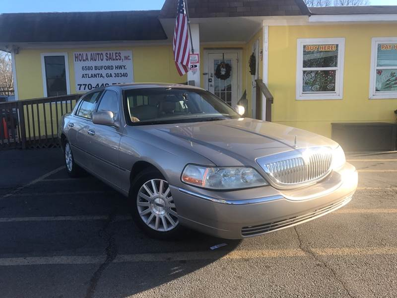 2003 Lincoln Town Car Signature 4dr Sedan In Atlanta Ga Hola Auto