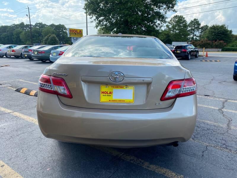 2011 Toyota Camry LE 4dr Sedan 6A - Doraville GA