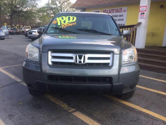 2008 Honda Pilot 4x4 VP 4dr SUV - Doraville GA