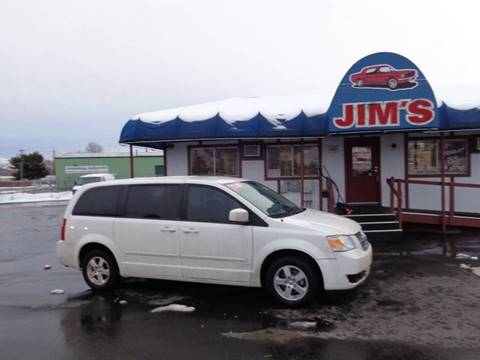 2008 Dodge Grand Caravan SXT for sale at Jim's Cars by Priced-Rite Auto Sales in Missoula MT