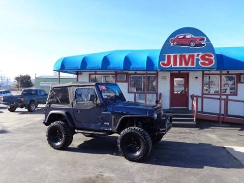 1997 Jeep Wrangler SE for sale at Jim's Cars by Priced-Rite Auto Sales in Missoula MT