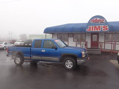 2003 Chevrolet Silverado 1500 LT for sale at Jim's Cars by Priced-Rite Auto Sales in Missoula MT