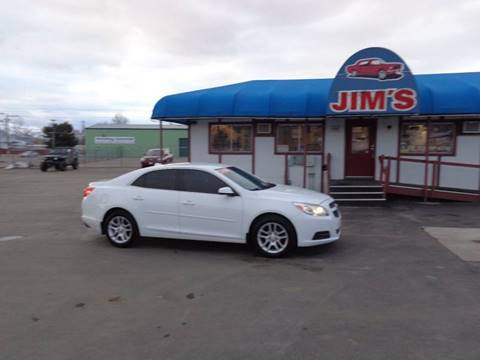 2013 Chevrolet Malibu Eco for sale at Jim's Cars by Priced-Rite Auto Sales in Missoula MT