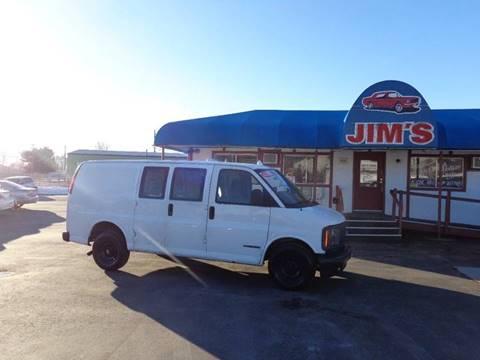 2000 Chevrolet Express Cargo G2500 for sale at Jim's Cars by Priced-Rite Auto Sales in Missoula MT