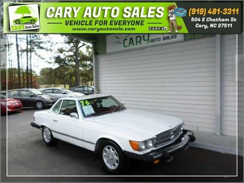 1976 Mercedes-Benz 450 SL for sale in Cary, NC