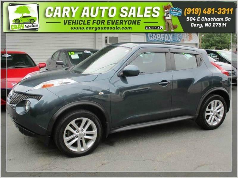 Cary auto sale used cars cary nc dealer 2013 nissan juke 9495 sciox Choice Image