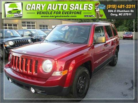 2016 Jeep Patriot for sale in Cary, NC