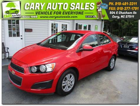 2016 Chevrolet Sonic for sale in Cary, NC