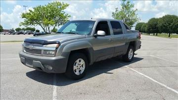 2002 Chevrolet Avalanche for sale at Stars Auto Finance in Nashville TN