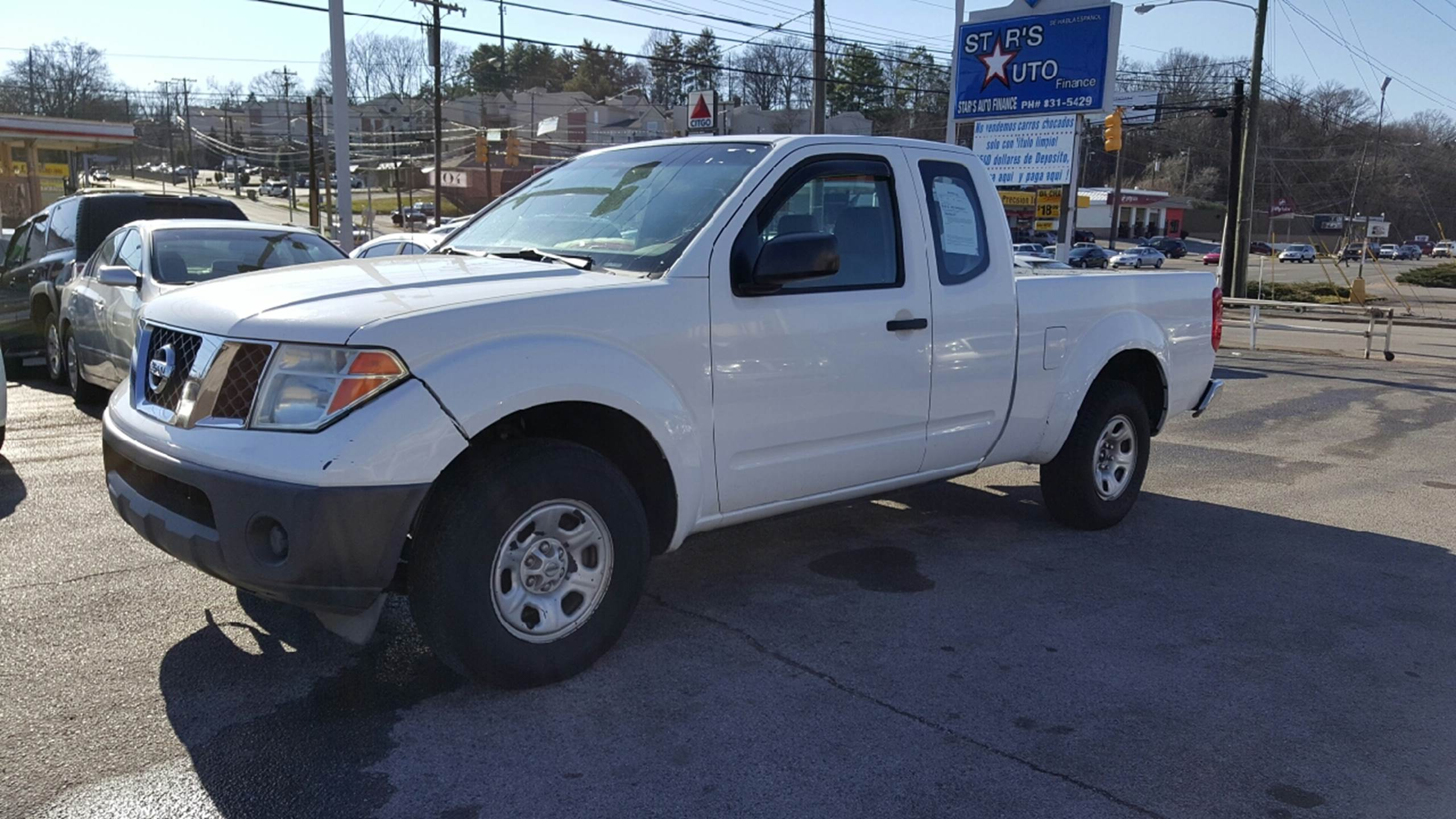 2008 Nissan Frontier for sale at Stars Auto Finance in Nashville TN